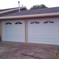 Single Car Garage Doors with Sherwood Windows Portland OR